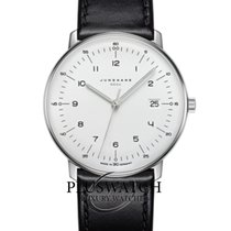 Junghans max bill MEGA Steel 38mm White Arabic numerals