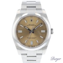 Rolex Oyster Perpetual 36 Сталь 36mm Без цифр