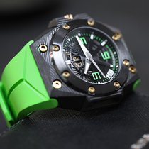 Linde Werdelin Carbon Automatic 44mm pre-owned Oktopus Double Date