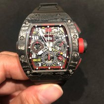 Richard Mille RM 11-02 Carbon 2017 RM 011 50mm rabljen