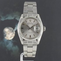 Rolex Air King Date Steel 34mm Silver
