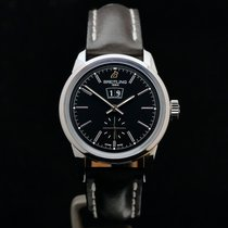 Breitling Transocean 38 Stahl 38mm Silber