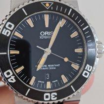 Oris Aquis Date 01 733 7653 4159-07 4 26 34EB 2014 pre-owned