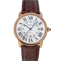 Cartier Ronde Solo de Cartier Rose gold 42mm Silver Roman numerals United States of America, Maryland, Baltimore, MD