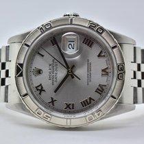 Rolex Datejust Turn-O-Graph Stahl 36mm Silber Keine Ziffern Deutschland, Iffezheim