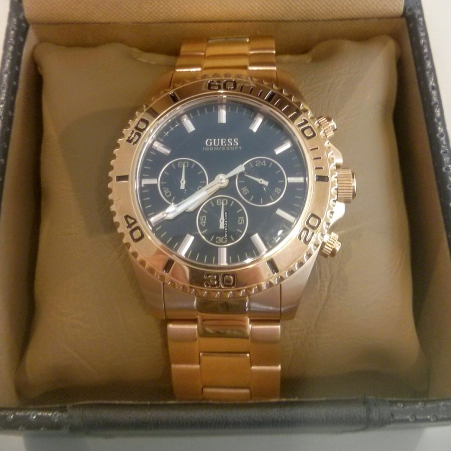muy agradable 72b7c d4a8a Guess Trendy Rose Gold W0170G3