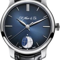 H.Moser & Cie. Platinum Manual winding 348.901-015 new United States of America, New York, Brooklyn