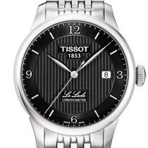 天梭 (Tissot) Le Locle Automatique Gent Black Dial 39,3mm T