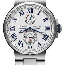 Ulysse Nardin Steel 45mm Automatic Marine Chronometer Manufacture new United States of America, New York, Airmont