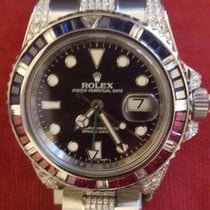 Rolex Silver Automatic pre-owned GMT-Master II