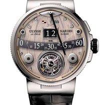 Ulysse Nardin Marine Grand Deck Platinum Men's Watch