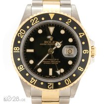 Ρολεξ (Rolex) GMT Master II 16713 Steel-Gold B+P 06/2002
