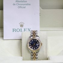 Rolex Ladies Datejust 179173 18k Yellow Gold & Steel...