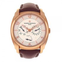 Vacheron Constantin Quai de l'Ile Day Date 18K Rose Gold Watch...