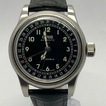 Oris Big Crown Pointer Date pre-owned 40mm Leather