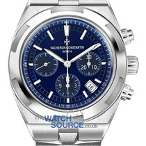 Vacheron Constantin Overseas Chronograph Steel 42.5mm Blue