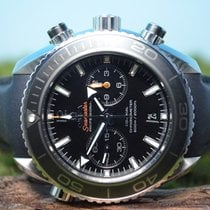 Omega 45,5mm Seamaster Planet Ocean 600m Co-Axial Chrono B&P...