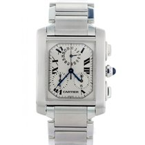 Cartier Tank Francaise Chronograph 2303 Mens Watch