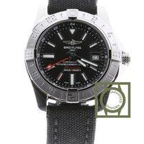 Breitling Chronomat Avenger II GMT Black Dial Anthracite...