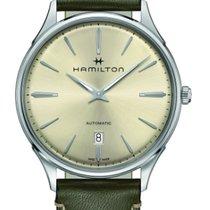 Hamilton Jazzmaster Thinline Acier 40mm Vert Sans chiffres