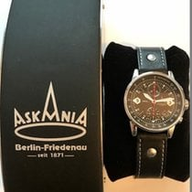 Askania Steel 40mm Automatic BRE-623-1 new