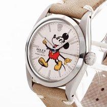 Rolex Oyster Precision Mickey an Lederband Ref. 6426