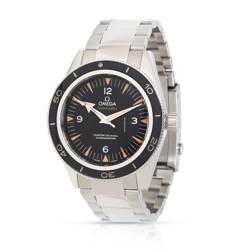 35fcdc55f76 Relógios Omega Seamaster 300 usados