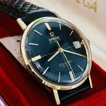 Omega Seamaster DeVille Yellow gold 34mm Black