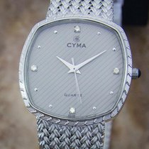 Cyma Gold/Steel 30mm Quartz pre-owned