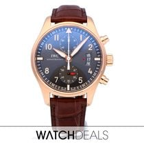 IWC Pilot Spitfire Chronograph Rose gold 43mm Grey Arabic numerals