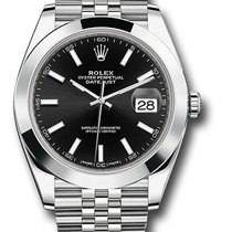 Rolex Datejust Steel 41mm No numerals United States of America, New York, New York