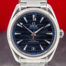 Omega Seamaster Aqua Terra Steel 41mm Blue Arabic numerals United States of America, Massachusetts, Boston