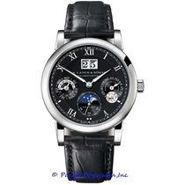 A. Lange & Söhne pre-owned Automatic 39mm Black Sapphire Glass