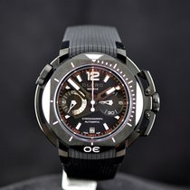 Clerc Hydroscaph L.E. Central Chronograph Steel Black