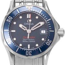 Omega 2224.80.00 Steel 2016 Seamaster Diver 300 M 28mm pre-owned