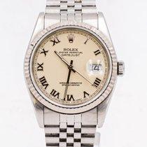 Rolex Datejust 16234 Odlično Zeljezo 36mm Automatika