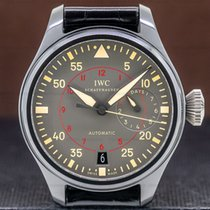 IWC Big Pilot Top Gun Miramar Titanium 48mm Green Arabic numerals