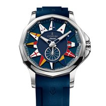 Corum Admiral's Cup Legend 42 Stal 42mm Niebieski