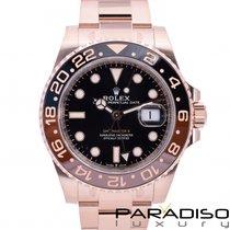 Rolex GMT-Master II Oro rosa Negro