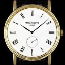 Patek Philippe Yellow gold Manual winding White Roman numerals 36mm pre-owned Calatrava
