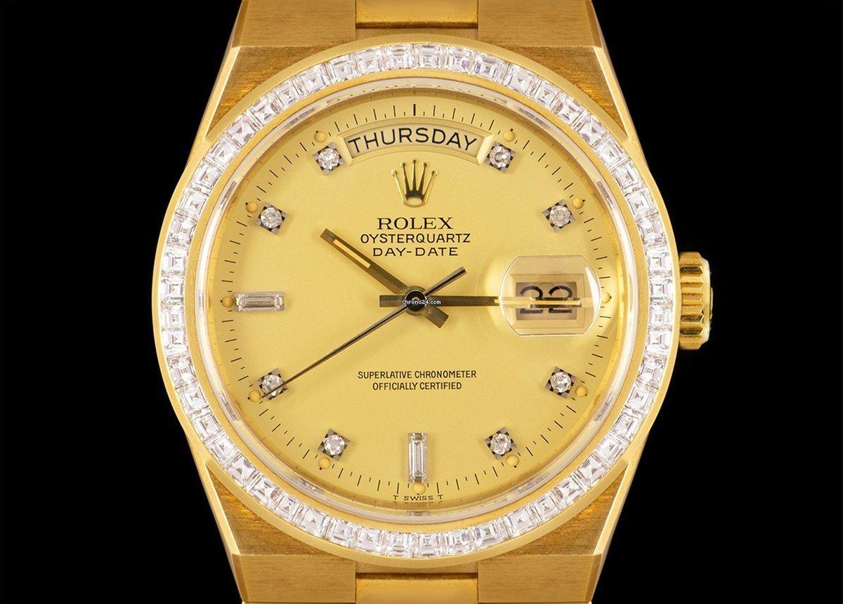 Rolex Day-Date Oysterquartz Rolex Day-Date Oysterquartz 19058 1984 nieuw