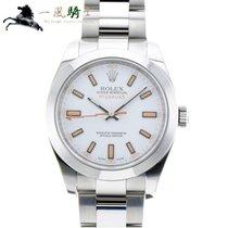 Rolex Milgauss Stahl 40mm Weiß
