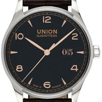 Union Glashütte Noramis Big Date Otel 40,00mm Negru