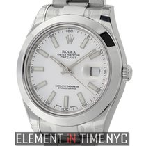 Rolex Datejust II Stainless Steel White Index Dial