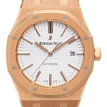 Audemars Piguet Royal Oak Jumbo 18 kt Roségold 15400OR.OO.D088...