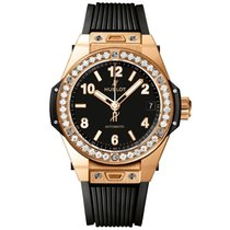 Hublot Big Bang One Click King Gold Diamonds