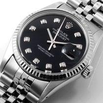 Rolex Datejust 16014-custom-blk-diam-jubilee occasion