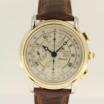 Maurice Lacroix Croneo Day Date Chronograph in steel / gold...