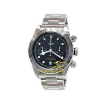 Tudor Black Bay Chrono 79350-0004 Tudor BLACK BAY Chrono Acciaio Nero 41mm 2020 new