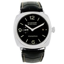 Panerai Radiomir Black Seal 3 Days Watch Pam388 Pam00388 Box...